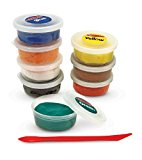 Melissa & Doug Super Model Sculpting Compound With 8 Colors of Air-Dry Clay