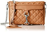 Rebecca Minkoff Quilted Mini Mac,Tan,One Size