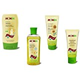 Momin Greenicare Organic Baby Wash & Shampoo, Lotion, Oil & Skin Cream Bundle