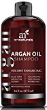 ArtNaturals Argan-Oil Volume Enhancing Shampoo – Sulfate Free - Treatment for Premature Hair Loss, Thinning and First Signs of Balding - Men and Women -16 oz.