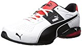 PUMA Men's Cell Surin 2 Fm Cross-Trainer Shoe, Puma White/Puma Black, 10 M US