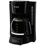 Mr. Coffee 12-Cup Programmable Coffee Maker, Black