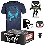 Funko Marvel Collector Corps, Subscription Box, Venom Theme, September, Large T-Shirt Size, Multicolor Funko