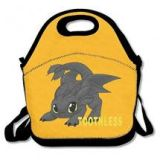How To Train Your Dragon Toothless Lunch Box Bag For Kids with Adjustable Strap