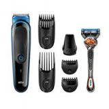 Braun Men Multi Grooming Kit MGK3045 7-in-1 Precision Trimmer for Beard and Hair Styling
