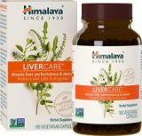 Himalaya LiverCare for Boost Liver Performance and Detox Protect Liver Cells And Enzymes - 375 mg, 180 COUNT
