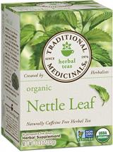 Traditional Medicinals Organic Nettle Leaf Tea For Joint Pain, 16 Tea Bags