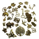 100 Pcs Mixed Antiqu…