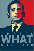 Michael Scott's Funny Motivational Poster..