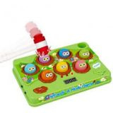 Educational Musical Learning Whack A Mole Classic Electronic Game Toy For Kids - Green