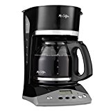 Mr. Coffee SKX23-RB 12-Cup Programmable Coffeemaker, Black