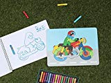 Colorful Wooden Jigsaw Puzzle Educational DIY Woodcraft Brain Teaser Toys and Game for Kids Children 26 Pieces(Bike) StoreIndya
