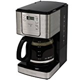 Mr. Coffee JWX31-RB 12-Cup Programmable Coffeemaker, Stainless Steel