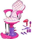 Click n' Play Doll Salon Chair and Accessories. Perfect For 18 inch American Girl Dolls Click N' Play