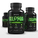 Best Testosterone Booster for Men - Alpha by Neovicta - Increase Stamina, Strength & Endurance - Muscle Builder Supplement Containing Tongkat Ali, Fenugreek, Resveratrol & More - 60 Count Neovicta