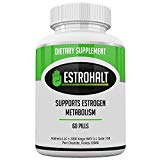 Estrohalt- DIM Supplement (Diindolylmethane) and Indole-3-Carbinol (I3C) Best Estrogen Blocker for Women & Men | Natural Aromatase Inhibitor Vitamin to Help PCOS, Menopause, and PMS Addrena