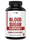 Natural Blood Sugar Support Supplements - Supports Healthy and Lower Blood Sugar - Blood Sugar Stabilizer - Top Glucose Support & Control Supplement (60 Capsules) Luma Nutrition