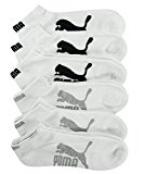 Puma Men's 1/2 Low Cut, White, 10-13 (Pack of 6)