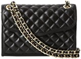 Rebecca Minkoff Mini Quilted Affair Cross-Body Bag,Black,One Size