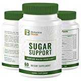 Botanica Boost 450mg Blood Sugar Support Supplement, 100% Natural Blend of 17 Herbs for Healthy Pancreas Function (180 Capsules) Botanica Boost