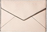 Rebecca Minkoff Women's Leo Clutch Nude One Size