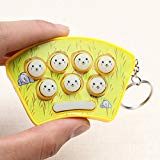 New Mini Whack-A-Mouse Mole Attack Game Key Chain Amusement Game BY LETBO Letbo