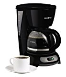 Mr. Coffee 4-Cup Switch Coffeemaker, Black, TF5-RB