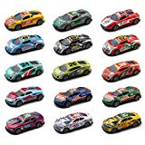 Pull Back Racing Cars Vehicles Set 15 PCS Mini Car Model Construction With Racing Car For Children Gift Real