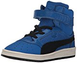 PUMA Kids' Sky II Hi Color Blocked Inf Sneaker,Lapis Blue-Puma Black,8 M US Toddler