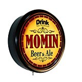 MOMIN Beer and Ale Cerveza Lighted Wall Sign
