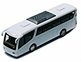 Coach Bus, White - Kinsmart 7101DW - 7