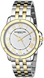 Raymond Weil Women's 5391-STP-00308 Tango Analog Display Swiss Quartz Two Tone Watch