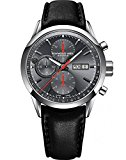 Raymond Weil Men's 'Freelancer' Swiss Automatic Stainless Steel Dress Watch, Color:Black (Model: 7730-STC-60112)