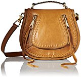 Rebecca Minkoff Small Vanity Saddle, Cuoio